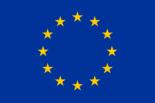 modrá vlajka se 12 žlutými hvězdami